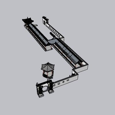 中式廊架 (5)