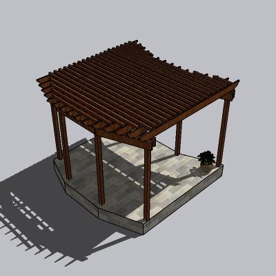 中式廊架 (50)