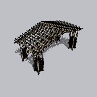 欧式廊架 (130)