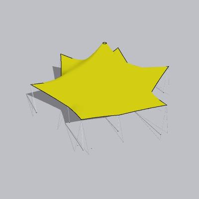 张拉膜模型 (137)