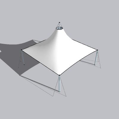 张拉膜模型 (140)