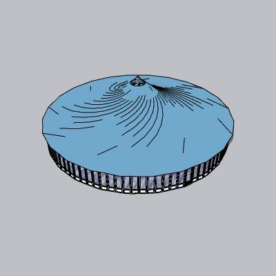 张拉膜模型 (141)