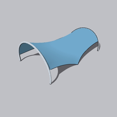张拉膜模型 (142)