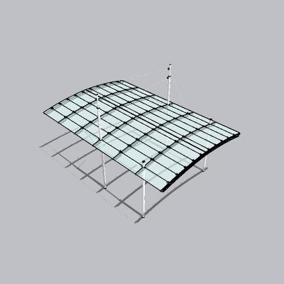 张拉膜模型 (145)