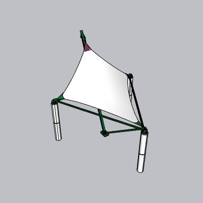 张拉膜模型 (32)
