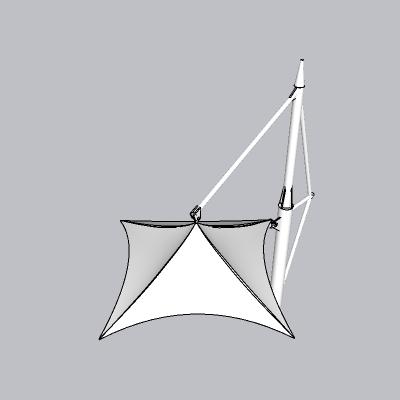 张拉膜模型 (36)