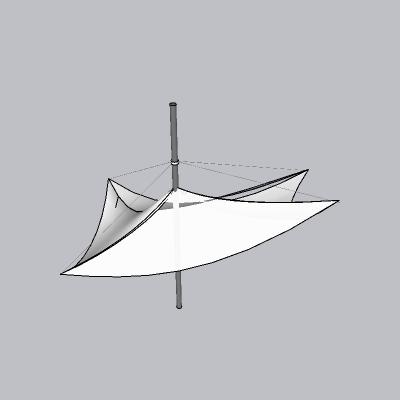 张拉膜模型 (37)