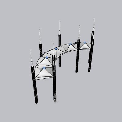张拉膜模型 (39)