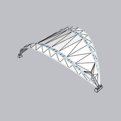 张拉膜模型 (40)
