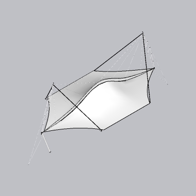张拉膜模型 (41)