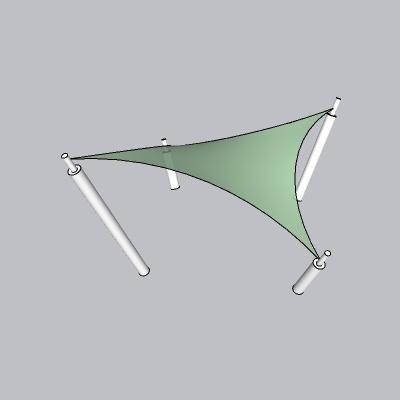 张拉膜模型 (50)