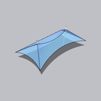 张拉膜模型 (68)