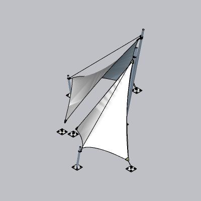 张拉膜模型 (76)