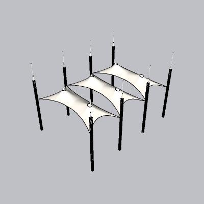 张拉膜模型 (80)