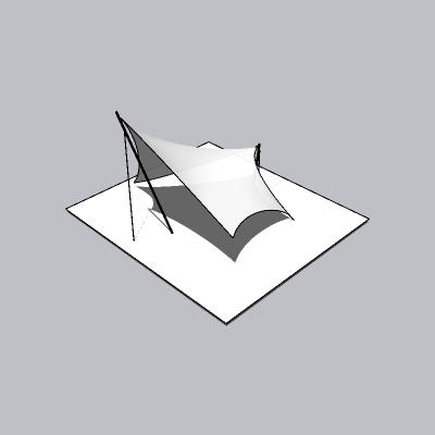 张拉膜模型 (85)