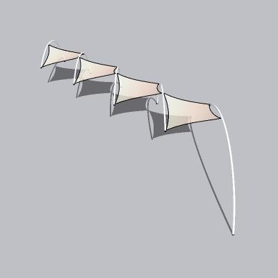张拉膜模型 (86)