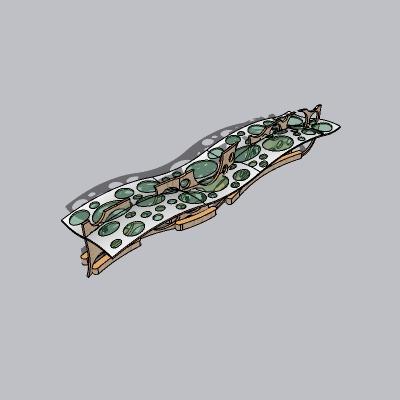 张拉膜模型 (91)