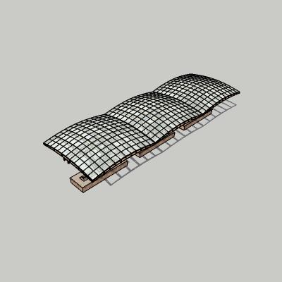 张拉膜模型 (94)