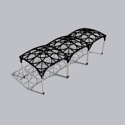 张拉膜模型 (99)