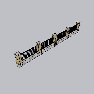 围墙景墙 (121)