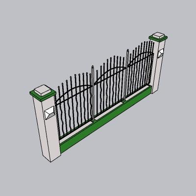 围墙景墙 (14)