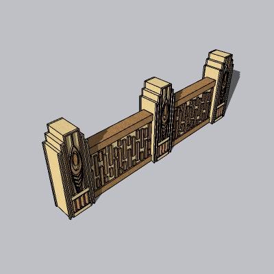 围墙景墙 (25)