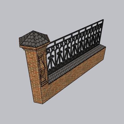 围墙景墙 (32)