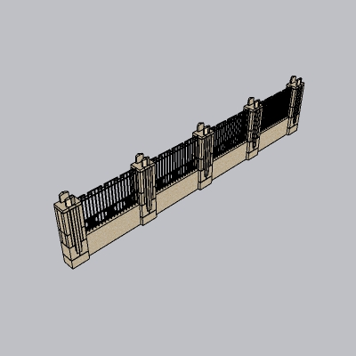 围墙景墙 (43)