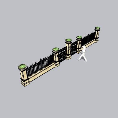 围墙景墙 (53)