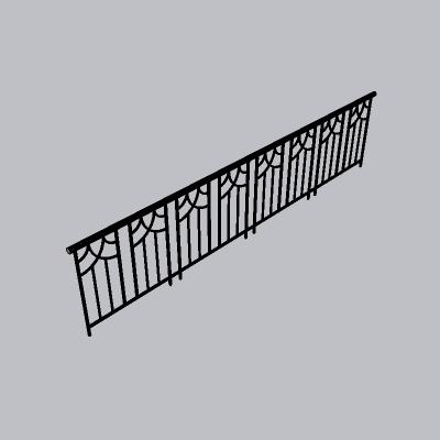 铁艺栏杆  (1)