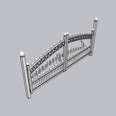 铁艺栏杆  (104)