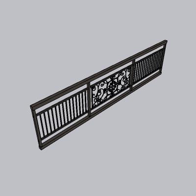 铁艺栏杆  (106)