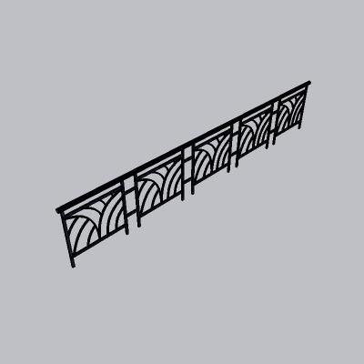 铁艺栏杆  (113)