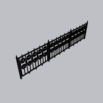 铁艺栏杆  (115)