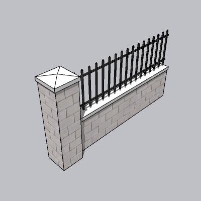铁艺栏杆  (128)