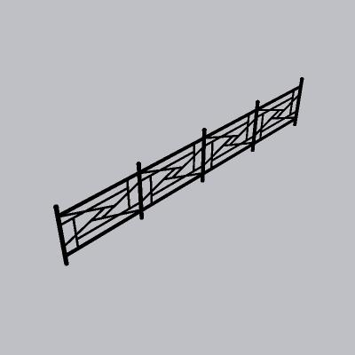 铁艺栏杆  (13)