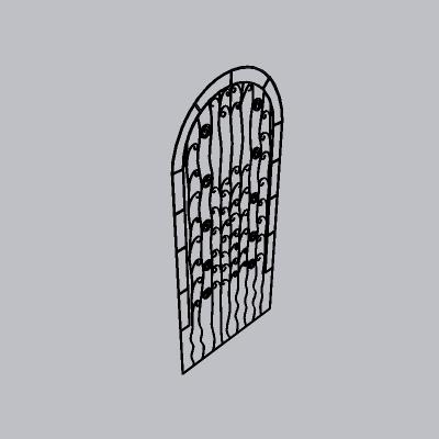 铁艺栏杆  (131)