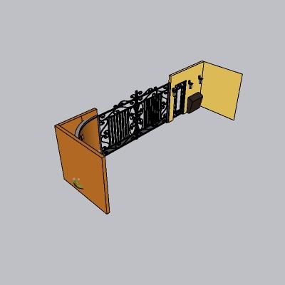 铁艺栏杆  (143)