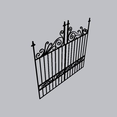 铁艺栏杆  (144)