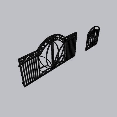 铁艺栏杆  (147)