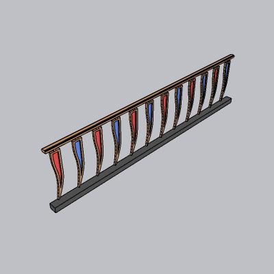 铁艺栏杆  (15)