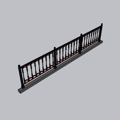 铁艺栏杆  (19)