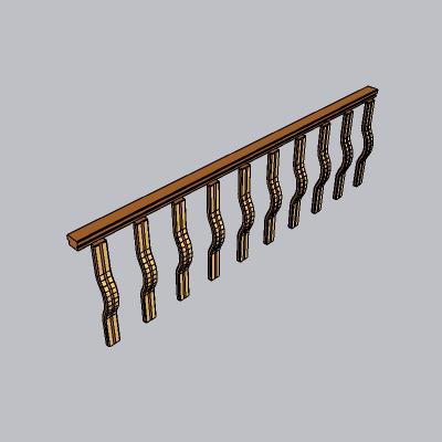 铁艺栏杆  (2)