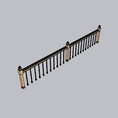 铁艺栏杆  (21)