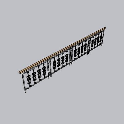 铁艺栏杆  (26)