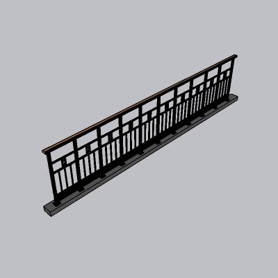 铁艺栏杆  (29)