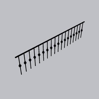 铁艺栏杆  (4)