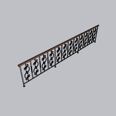 铁艺栏杆  (46)