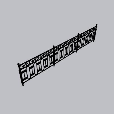 铁艺栏杆  (50)