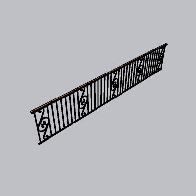 铁艺栏杆  (62)